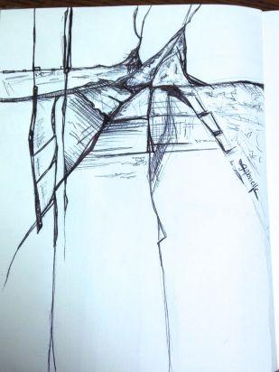 Pen sketch from my sketchbook